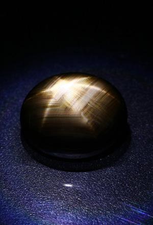 Zaffiro stellato nero