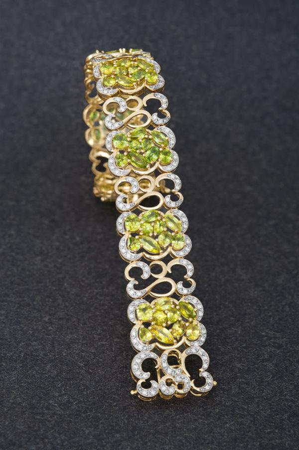 braccialetto in oro juwelo
