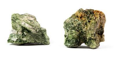 Diopside cristalli grezzi