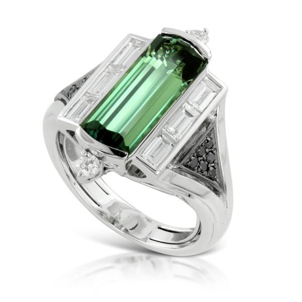 anello con alessandrite brasiliana
