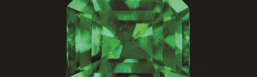 Le tipiche inclusioni dello Smeraldo
