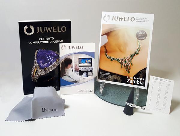 Il pacchetto di benvenuto di Juwelo