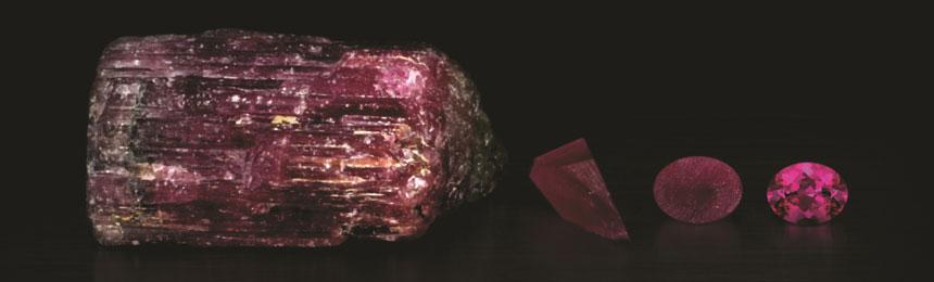Le varie fasi del taglio di una gemma